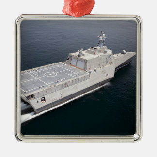 The littoral combat ship Independence 3 Christmas Ornament