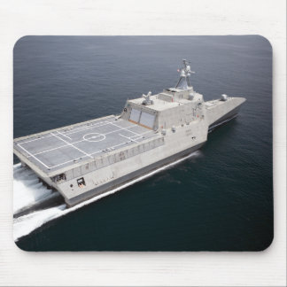 The littoral combat ship Independence 3 Mouse Mat