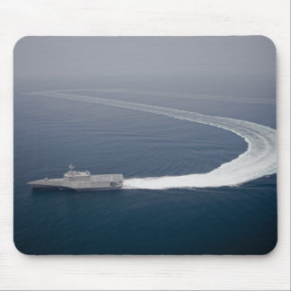 The littoral combat ship Independence 4 Mouse Pad
