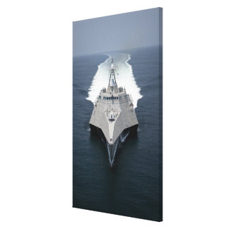 The littoral combat ship Independence Canvas Print
