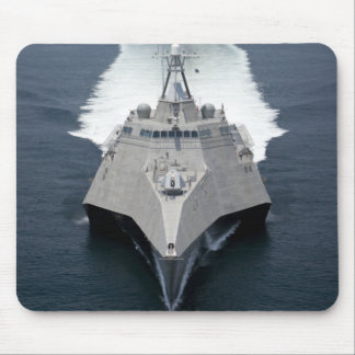 The littoral combat ship Independence Mouse Mat