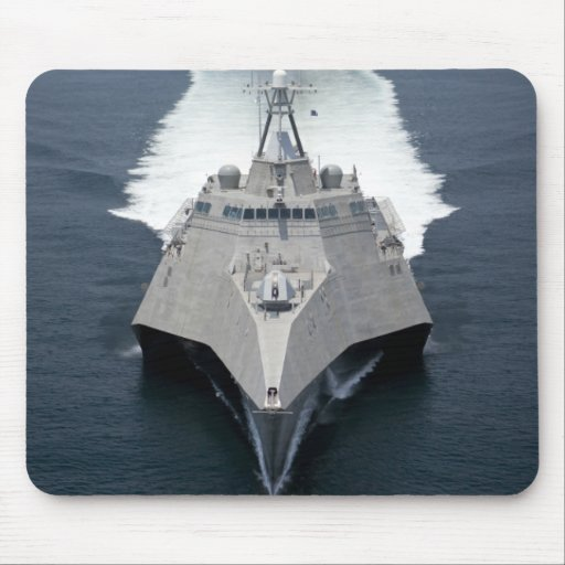 The littoral combat ship Independence Mouse Pad
