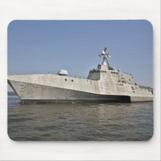 The littoral combat ship Independence underway Mouse Mat