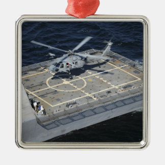 The littoral combat ship USS Freedom Christmas Ornament
