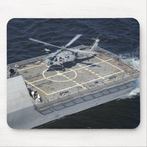 The littoral combat ship USS Freedom Mousepad