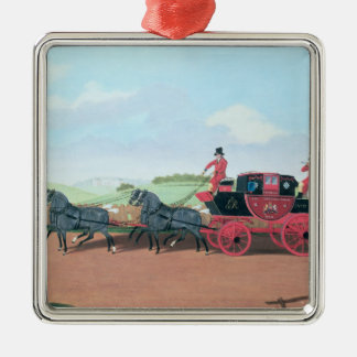 The Liverpool and London Royal Mail Coach, 1812 Christmas Ornament
