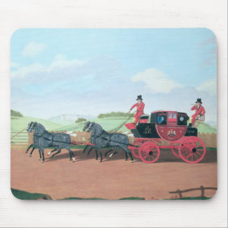 The Liverpool and London Royal Mail Coach, 1812 Mouse Mat
