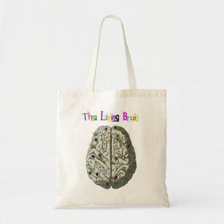 The living brain tote bag