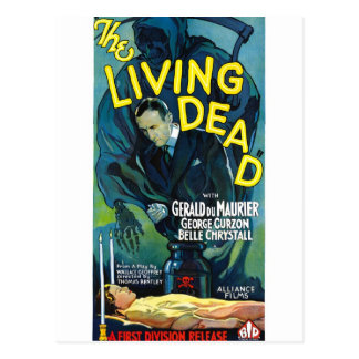 The Living Dead Post Card