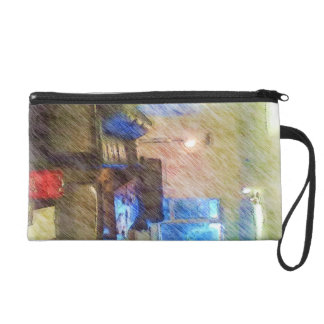 The Living Room Wristlet Clutch