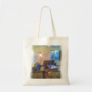 The Living Room Budget Tote Bag