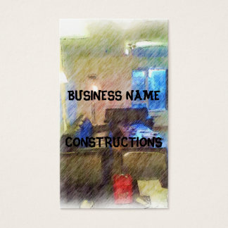 The Living Room Business Card