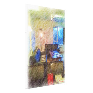 The Living Room Canvas Print