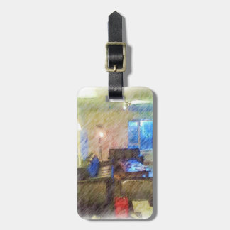 The Living Room Luggage Tag
