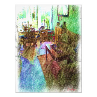 The Living room Photographic Print