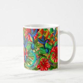 The Lizard and the Hummingbird Coffee Mug