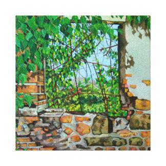The Lizard's View 2008 Canvas Print