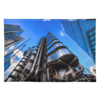 The Lloyd's of London Cheesegrater and Willis Grou Placemat