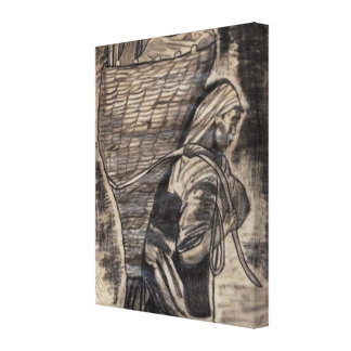 THE LOAD canvas Gallery Wrap Canvas