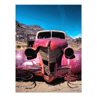 The Lobster Car a Vintage 1939 Chevy Art Photo