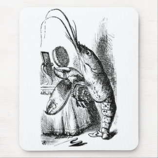 The Lobster Quadrille Mouse Pad