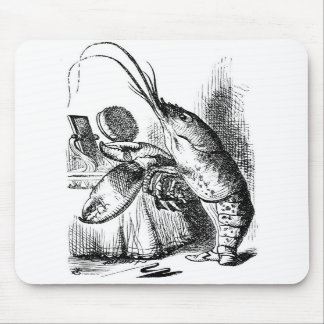 The Lobster Quadrille Mouse Pads