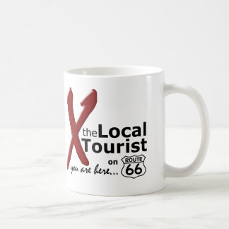 The Local Tourist on Route 66 Basic White Mug