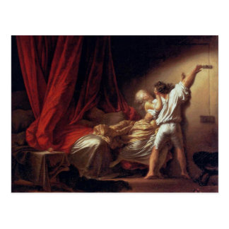 The Lock,  By Fragonard Jean-Honoré (Best Quality) Postcard