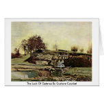 The Lock Of Optevoz By Gustave Courbet Greeting Card