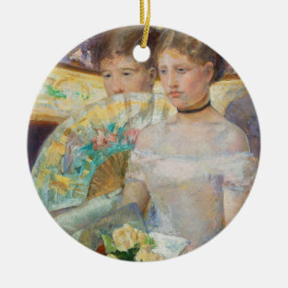 The Loge, 1882 (oil on canvas) Christmas Ornament
