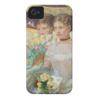 The Loge, 1882 (oil on canvas) iPhone 4 Covers