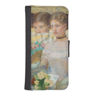 The Loge, 1882 (oil on canvas) iPhone SE/5/5s Wallet Case