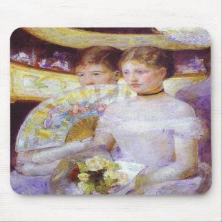 The Loge, Mary Cassatt Mousepad