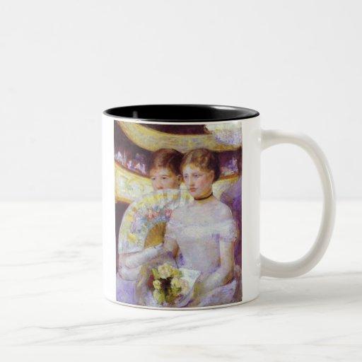 The Loge, Mary Cassatt Coffee Mug