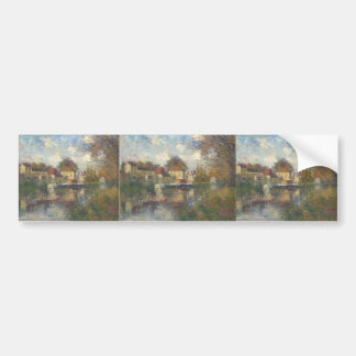 The Loing at Moret by Gustave Loiseau Bumper Sticker