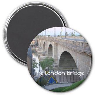 The London Bridge 7.5 Cm Round Magnet
