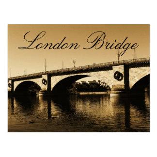 The London Bridge Postcard