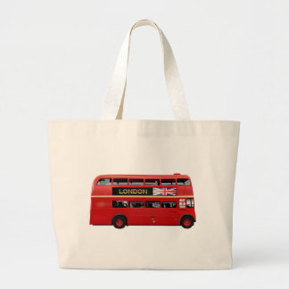 The London Bus Large Tote Bag