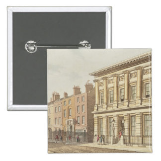 The London Commercial Sale Rooms 15 Cm Square Badge