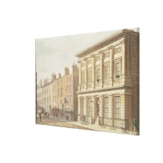 The London Commercial Sale Rooms Canvas Print