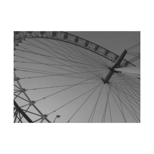 The London Eye Stretched Canvas Prints