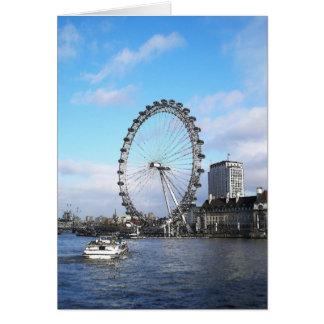 The London Eye Card