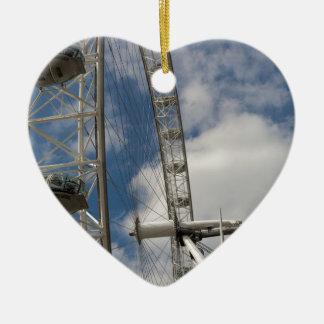 The London Eye Ceramic Heart Decoration