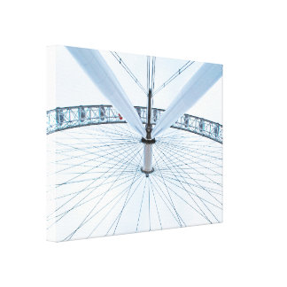 The London Eye - England Gallery Wrapped Canvas