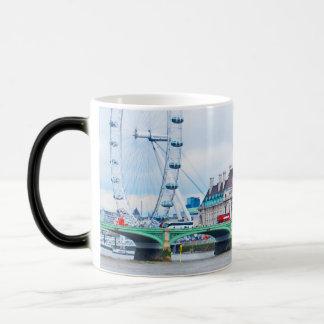 The London Eye on a Sunny Day Morphing Mug