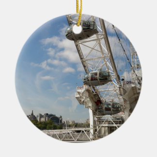 The London Eye Round Ceramic Decoration