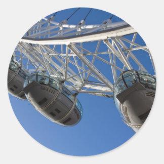 The London Eye Round Sticker