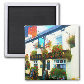 The London Inn Padstow Cornwall Watercolour Magnet