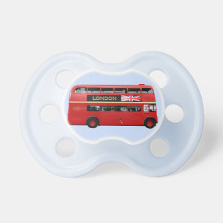 The London Red Bus Baby Pacifier