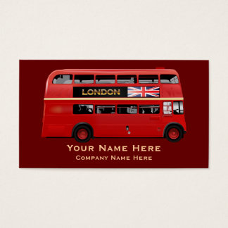 The London Red Bus Business Card